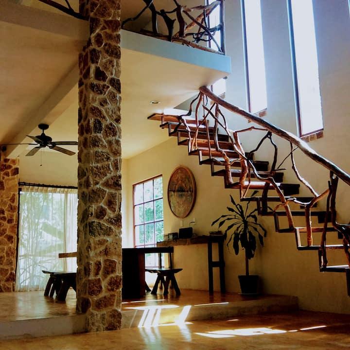 Tulum nature loft style beautiful full house