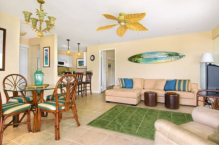 Beachfront-2BR Deluxe Oceanview-Kauai Beach Villas - Lihue - Condominium