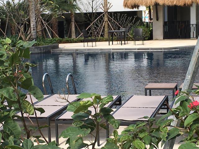 三亚市中心舒适三居室 闹中取静 无边际泳池 - 三亚市 - Appartement