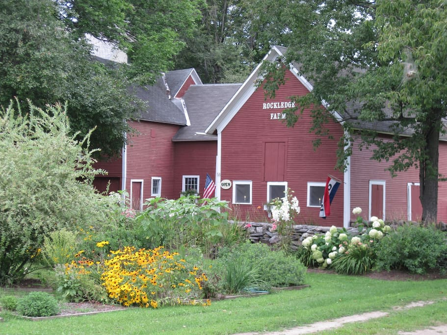 Rockledge Farm barns--Location of our workshops, and The Gallery at Rockledge Farm.