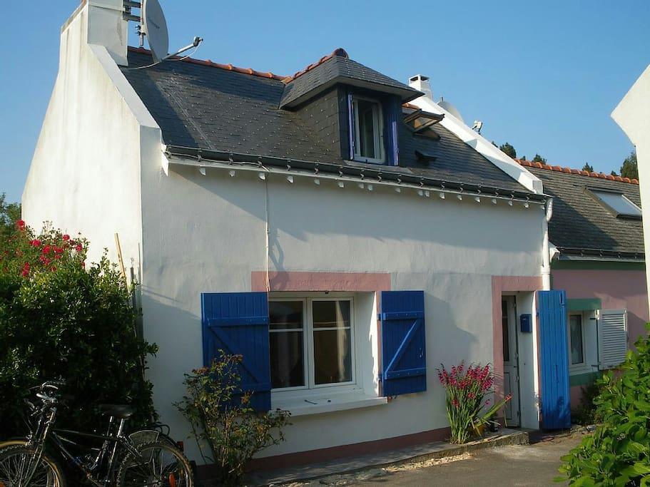 Maison de p cheur sans jardin houses for rent in le - Maison de pecheur bretagne ...