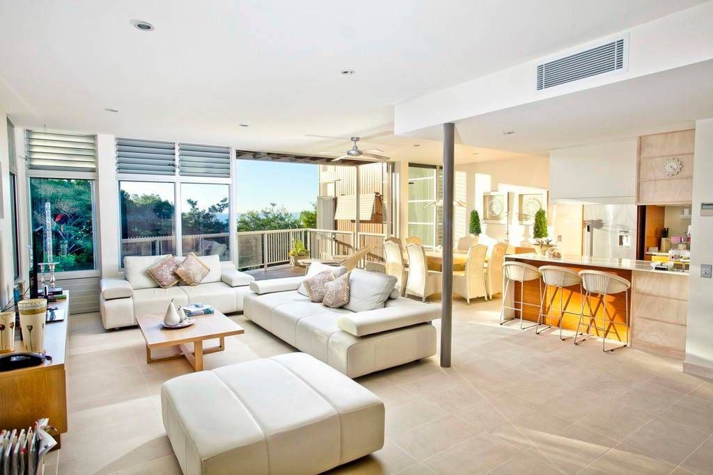 Villa Living - Please be advised that Peppers Noosa Resort & Villas is a full service hotel. The photos provided showcase our style and service culture, however your apartment may differ in exact position, layout or view.