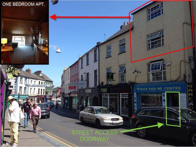 Rose Inn Self Catering 1 Bedroom Apartment - Kilkenny - Flat