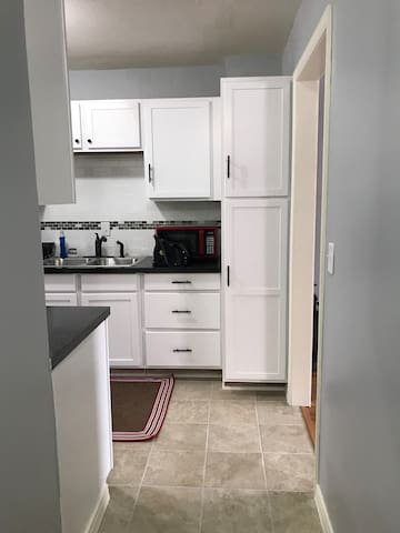 View From Hallway to Kitchen