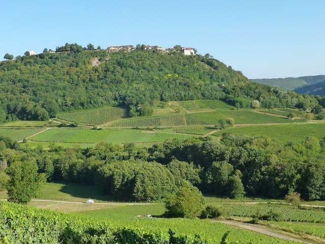 Le village perché de Chateau Chalon