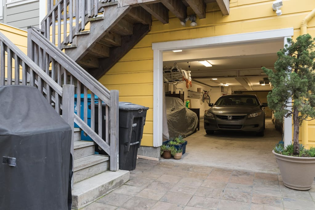 Garage available and parking can be discussed.