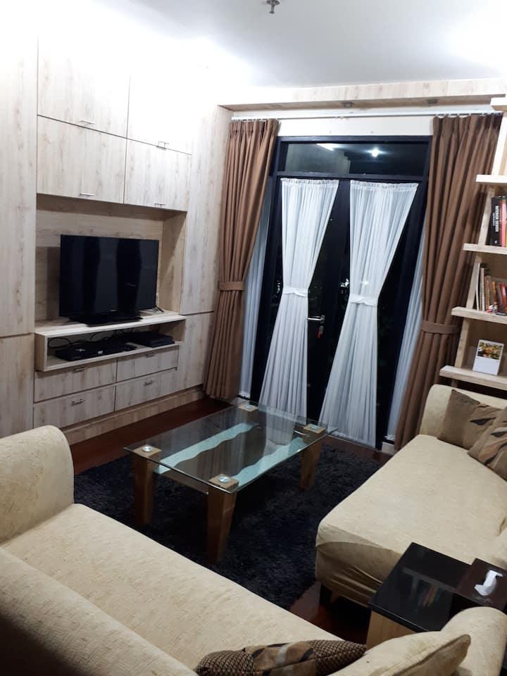 Hampton's Park Apartment, south Jakarta.