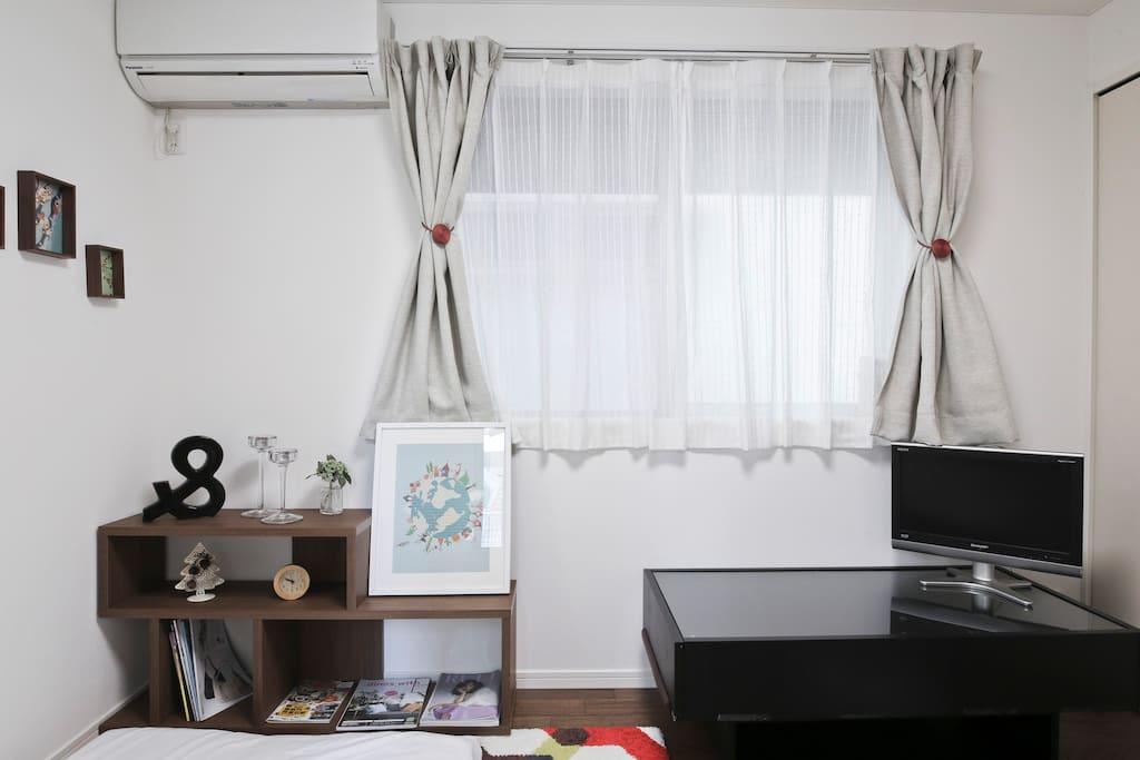 Private bedroom(房间)
