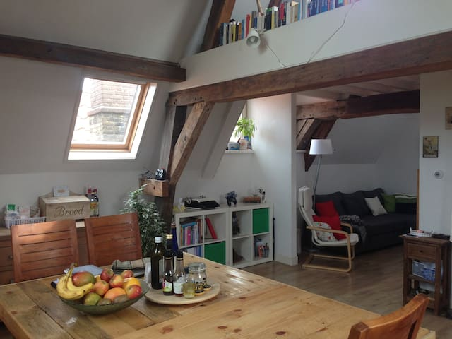 Cosy nest right in the beautiful center of Delft - Delft - Wohnung