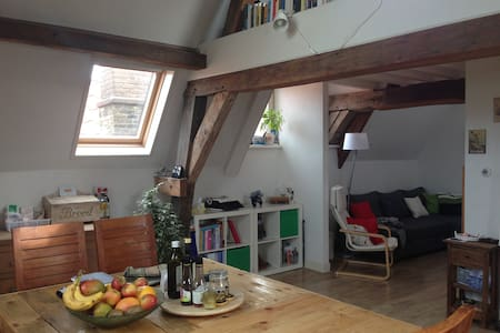 Cosy nest right in the beautiful center of Delft - Delft - Lejlighed