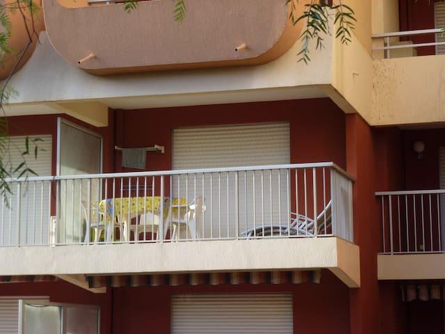 FRÉJUS PLAGE studio à 20m de la plage - Fréjus - Apartment