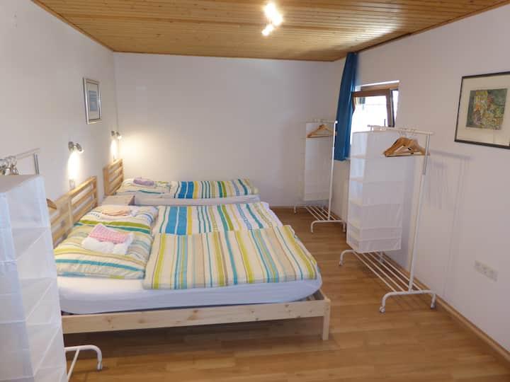 Unterkunft im Stile einer Herberge, Zimmer 2
