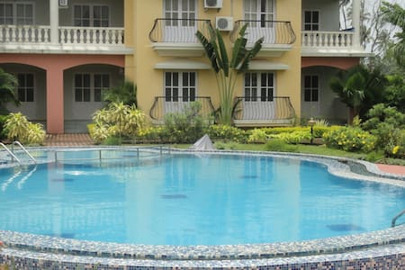 Apartments walking distance to the beach - Colva - 公寓