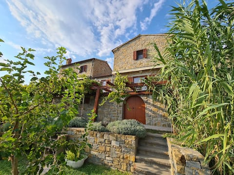 Istrian stone house Padna, 2-4 person