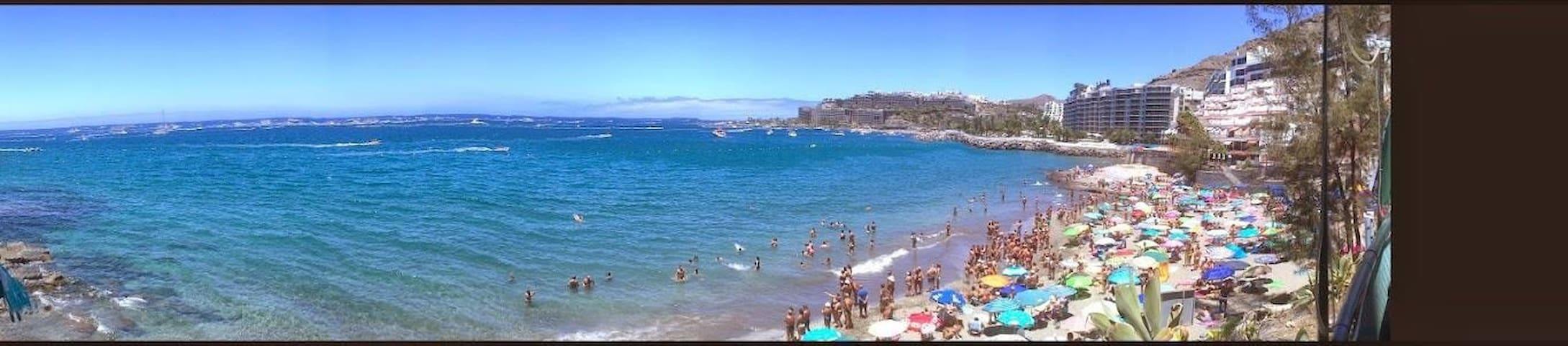 Rett på stranden i Patalavaca ! - Arguineguin  - Pis