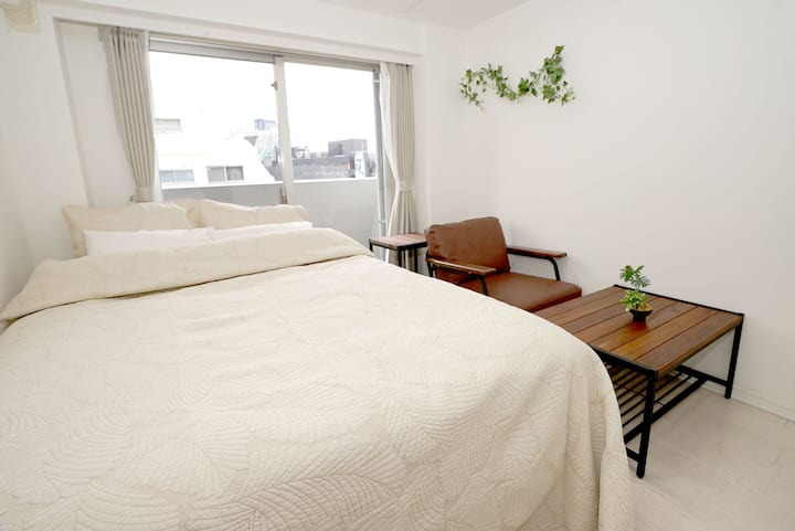 5 mins to SHIBUYA sta. Comfy apartment for 3 ppl