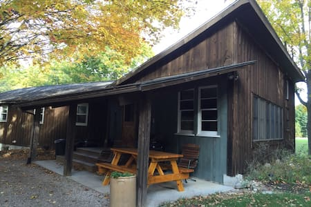 Fieldhouse Leelanau County Michiga - Cedar - House