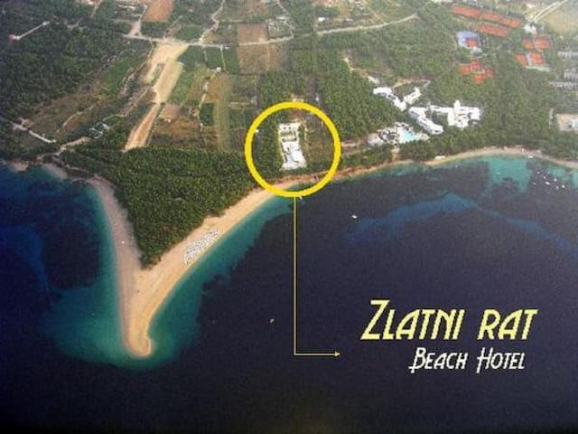 Double room+breakfast in Zlatni rat Beach Hotel