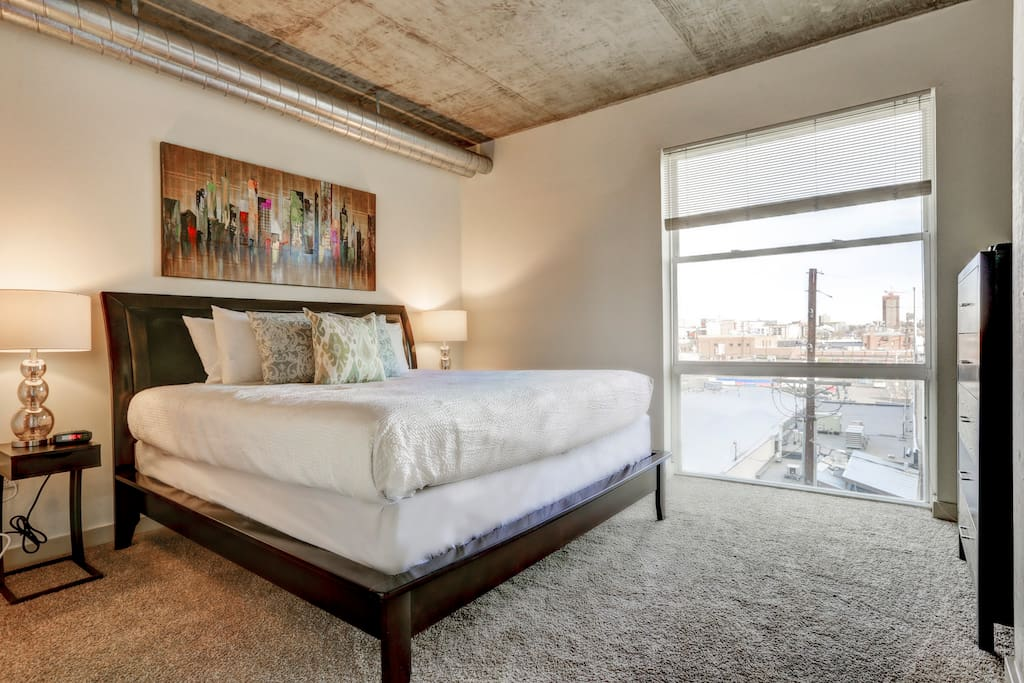 Bedroom at Premier Lofts by Stay Alfred