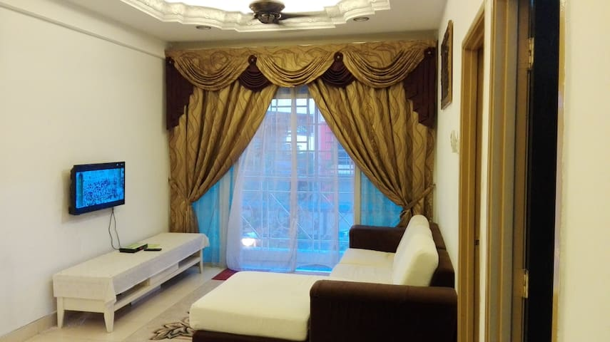 Muslim Apartment with 3B & 2BR in Penang