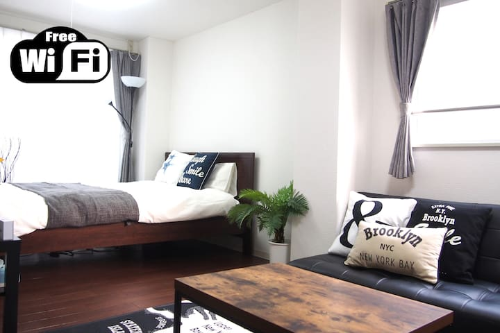 3Mins Shin-Osaka ☆ Luxury and Cozy Room ☆