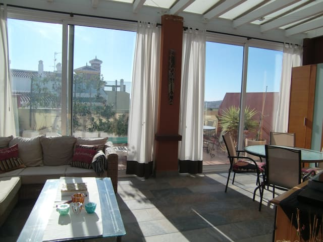 Penthouse with XXL terrace, Wifi - Vélez-Málaga - Loft