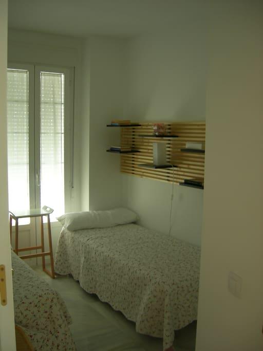 Dormitorio de 2 camas de 90cms