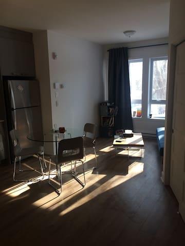 Contemporary studio in Little Burgundy - Montréal - Apartment