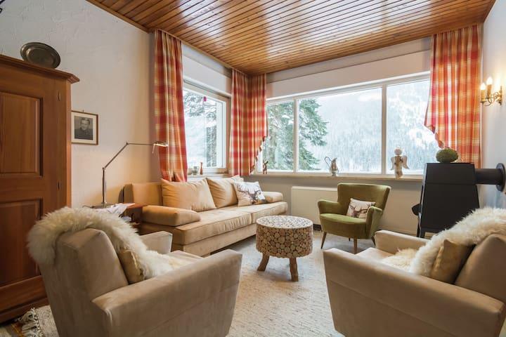 Rustig landhuis in Seewiesen, skiën in de buurt