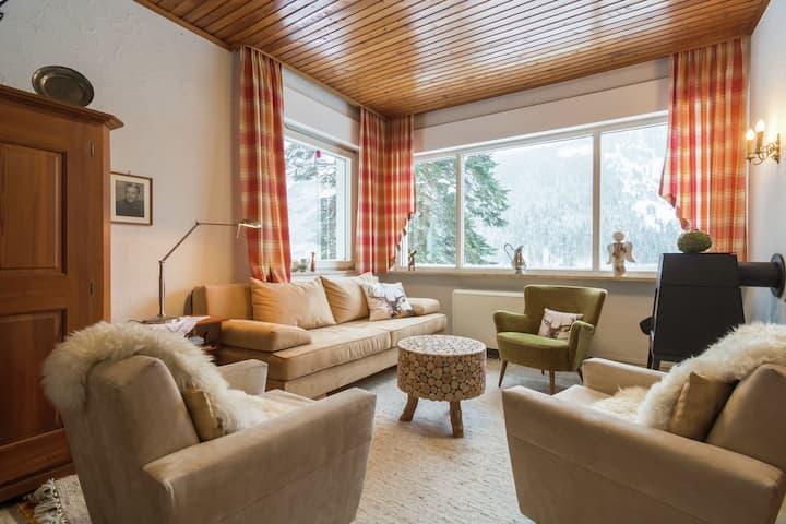 Tranquila casa de vacaciones en Seewiesen cerca de la zona de esquí de Seeberg