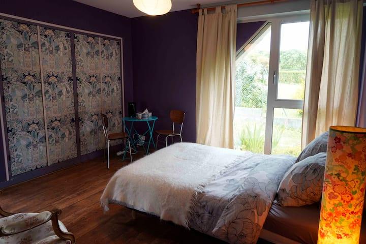 Chambre cosy à Goulien, Crozon