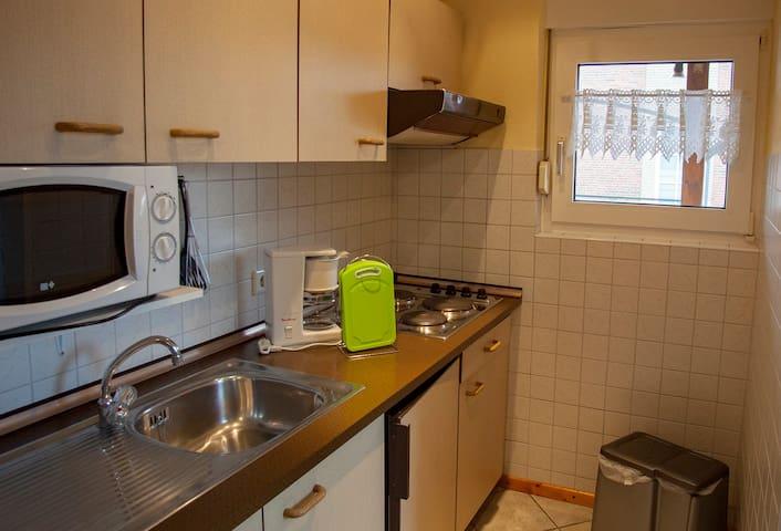 """Haus Albers, (Horumersiel-Schillig), Ferienwohnung """"Wangerland"""", 38qm, 1 Schlafzimmer, max. 2 Personen"""