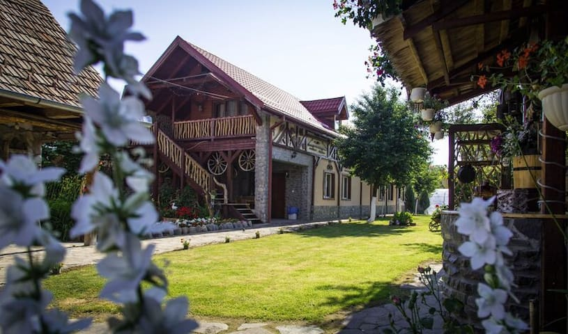 Beautiful Rustic Guesthouse with a Friendly Host - Cârțișoara - Huis