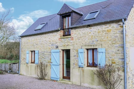 Holiday cottage with 2 bedrooms on 54m² in Brucheville