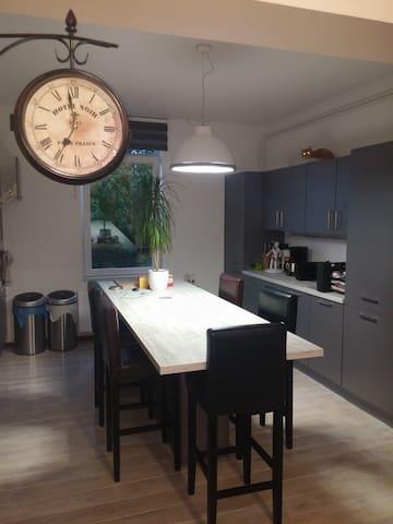 Bel appartement au calme sur Soignies - Soignies - Apartment