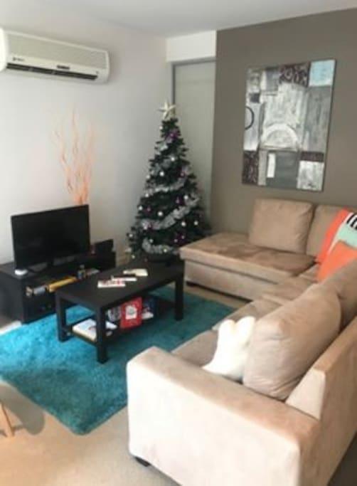 Living room - i've taken the Christmas tree down now!