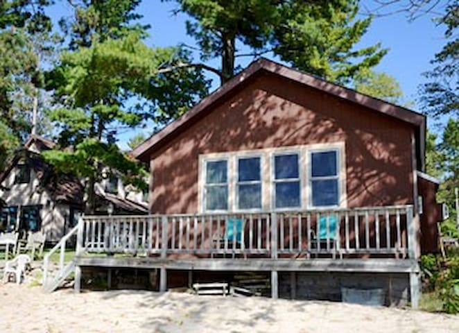 2 bedroom on the BEACH at AuTrain Lake