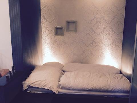 Bed // Bett für 2, 120cm