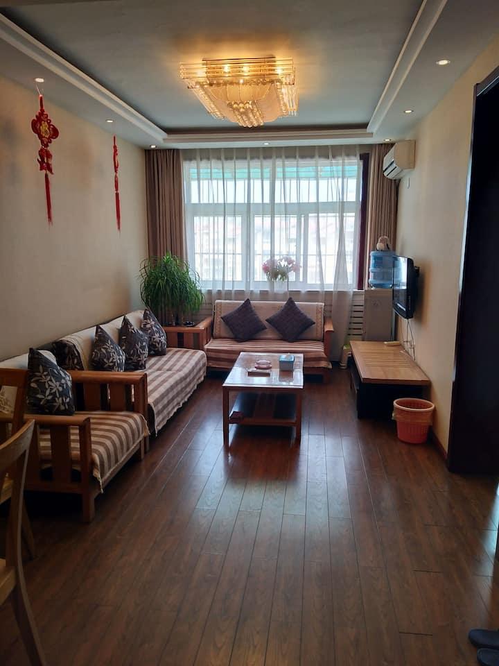 白水街豪华舒适大床房