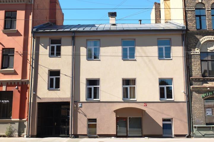 Small sunny studio - Riga - Departamento