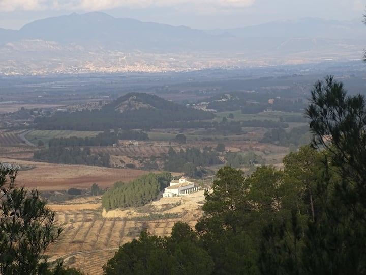 Finca del Calderero. Parque natural Sierra Espuna