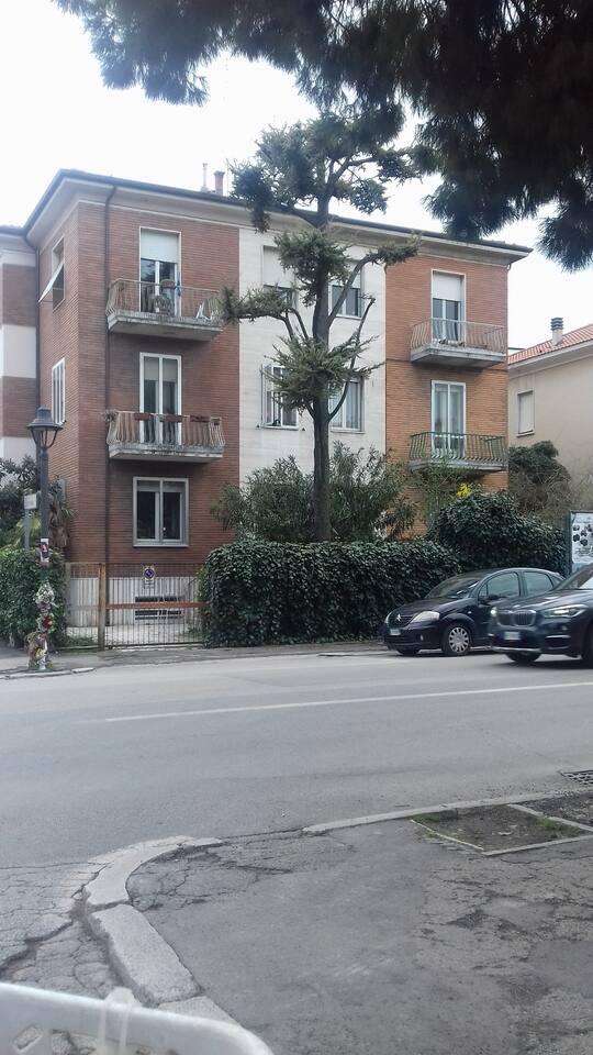 Casa Mancini dalla strada