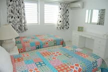 Beds can be set up as single beds or as King size bed