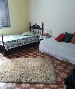 Casa terrea um quarto 2 camas confortáveis