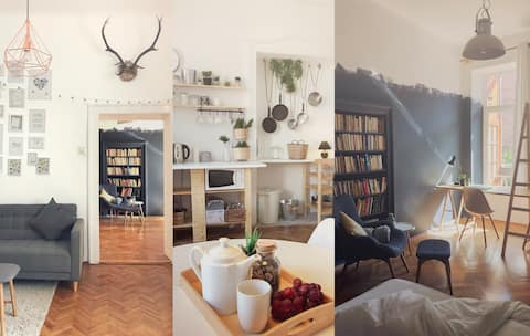 Cozy Scandinavian Flat - Old City Centre