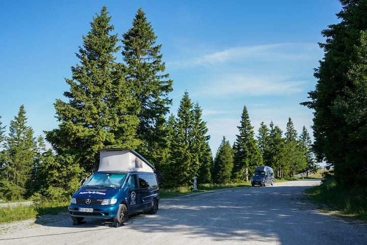 Legendary Marco Polo/Mercedes-Benz Vito campervan