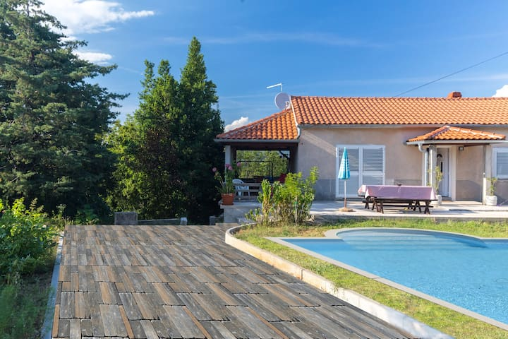 Villa with private swimming pool - Dobrinj - Vila