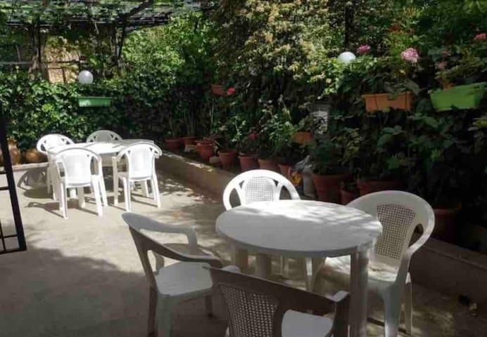 Baabdat charming garden apartment