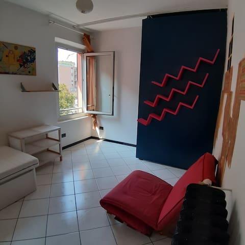 Camera singola, vicino al centro di Modena