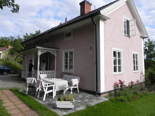 House from 1860 in Gamleby